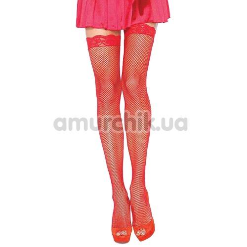 Чулки Sheer Stockings, красные