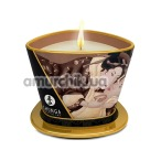 Свеча для массажа Shunga Massage Candle Exotic Intoxicating Chocolate - шоколад, 170 мл - Фото №1