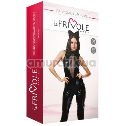 Костюм кошки LeFrivole Catwoman Costume, чёрный