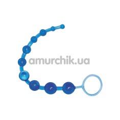 Анальная цепочка Royal Blue Analkette, голубая - Фото №1