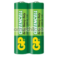 Батарейки GP Greencell Extra Heavy Duty AA, 2 шт