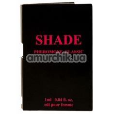 Духи с феромонами Shade Pheromone Classic для женщин, 1 мл - Фото №1