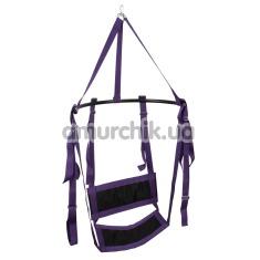 Секс-качели Fuck Swing, фиолетовые - Фото №1