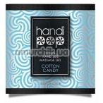 Гель для массажа Sensuva Handipop Cotton Candy - сахарная вата, 6 мл - Фото №1