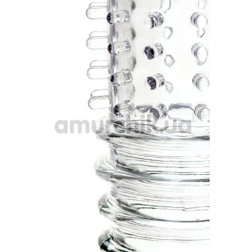 Насадка на пенис A-Toys 768010, прозрачная