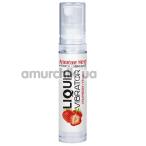 Лубрикант с эффектом вибрации Amoreane Med Liquid Vibrator Strawberry - клубника, 10 мл - Фото №1