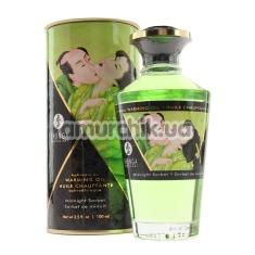 Массажное масло Warming Oil Exotic Green Tea с согревающим эффектом - зеленый чай, 100 мл - Фото №1