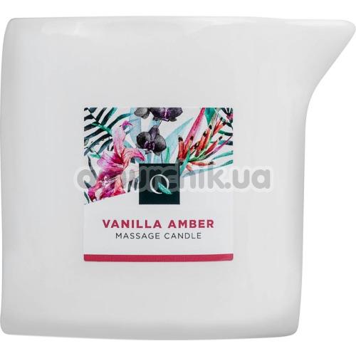 Массажная свеча Exotiq Massage Vanilla Amber - ваниль и янтарь, 200 мл