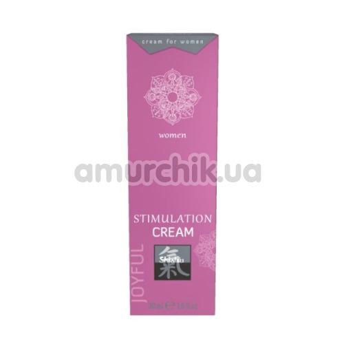 Возбуждающий крем для женщин Shiatsu Stimulation Cream Joyful Women, 30 мл - Фото №1
