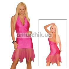Платье Hottie Halter Dress розовое (модель CL085) - Фото №1