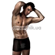 Мужские трусы Passion 004 Short, черные - Фото №1