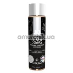 Оральный лубрикант JO H2O Black Licorice - черная лакрица, 120 мл - Фото №1