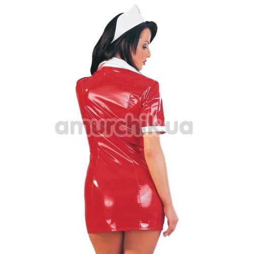 Костюм медсестры Black Level 2851083 красный: платье + шапочка
