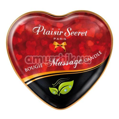 Массажная свеча Plaisir Secret Paris Bougie Massage Nature - нейтральная, 35 мл