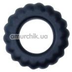 Эрекционное кольцо Baile Titan Cock Ring, черное - Фото №1