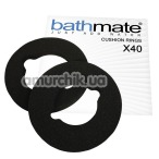 Кольцо для гидропомпы Bathmate X40 Hydromax 9 Cushion Rings, чёрное - Фото №1