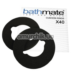 Кольцо для гидропомпы Bathmate X40 Hydromax 9 Cushion Rings, чёрное - Фото №1