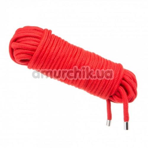 Веревка Loveshop Love Rope 20м, красная