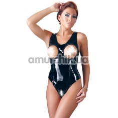 Боди Black Level Vinyl Open Cup Body, черное