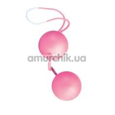 Вагинальные шарики Pink Futurotic Orgasm balls - Фото №1