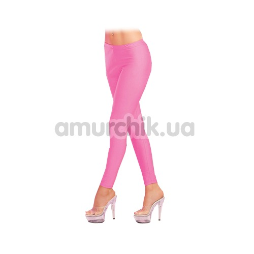 Леггинсы Sleek And Shiny Leggings, розовые - Фото №1