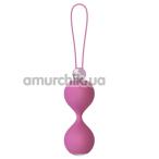 Вагинальные шарики Mae B Lovely Vibes Elegant Soft Touch Love Balls, розовые - Фото №1