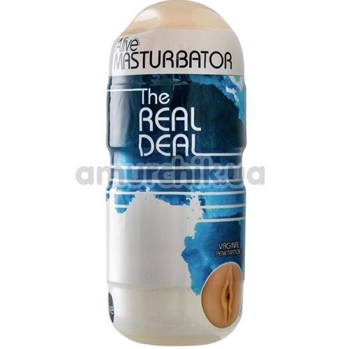 Мастурбатор Alive Masturbator The Real Deal, телесный