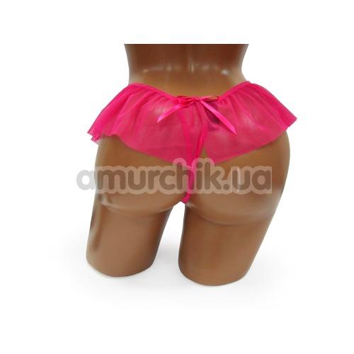 Трусики-стринги женские G-String розовые (модель 2394)
