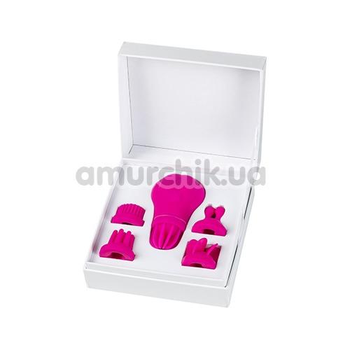 Клиторальный вибратор Adrien Lastic Caress, розовый