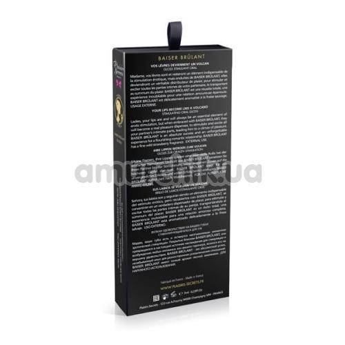 Блеск для губ с эффектом вибрации Plaisirs Secrets Baiser Brulant Stimulating Oral Gloss, 7 мл