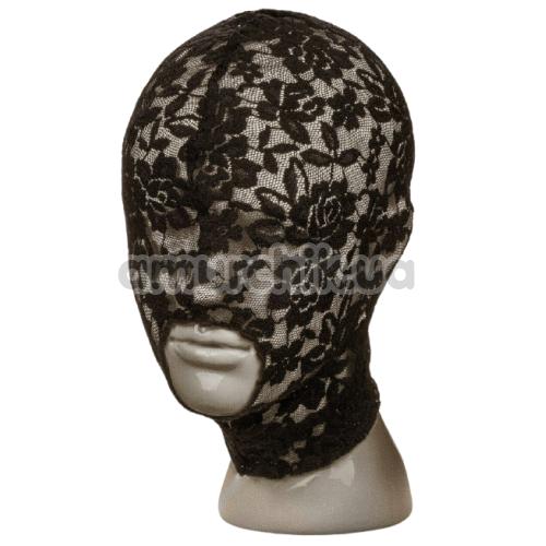 Маска Scandal Lace Hood, черная - Фото №1