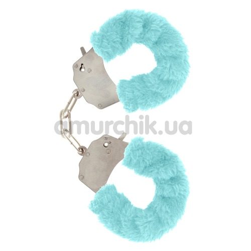 Наручники Furry Fun Cuffs, голубые - Фото №1