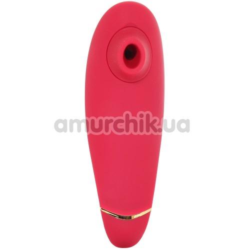 Симулятор орального секса для женщин Womanizer Premium, красный