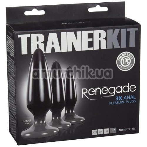 Набор анальных пробок Renegade Trainer Kit, 3 шт