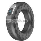 Виброкольцо Rechargeable Vibrating Ring Cock CR-201116, черное - Фото №1