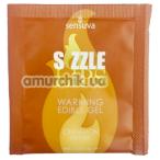 Оральный гель с согревающим эффектом Sensuva Sizzle Lips Cinnamon Pastry - булочка с корицей, 6 мл - Фото №1