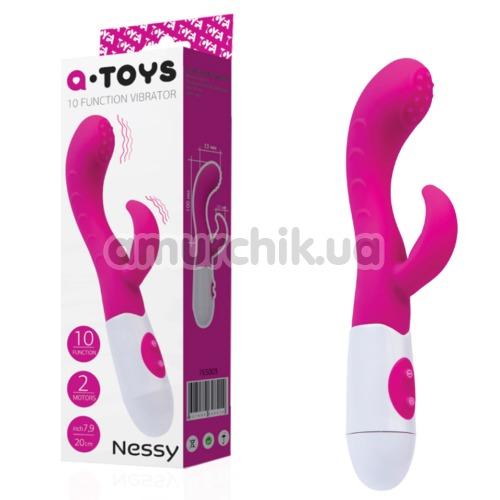 Вибратор A-Toys 10-Function Vibrator Nessy, розовый