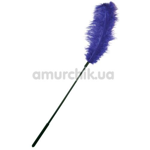 Перышко для ласк Ostrich Tickler, фиолетовое - Фото №1