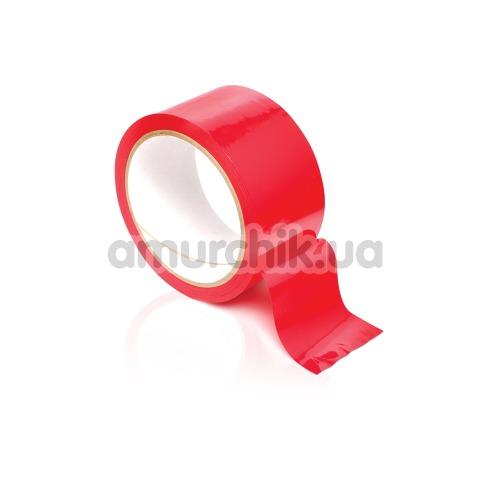 Бондажная лента Pleasure Tape, красная - Фото №1
