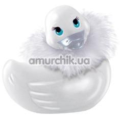 Клиторальный вибратор I Rub My Duckie Paris Travel Size, белый - Фото №1