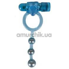 Эрекционное кольцо El Toro 2, синее - Фото №1