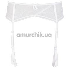Пояс для чулок Basic Suspender Belt, белый - Фото №1