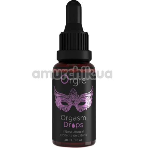 Стимулирующая сыворотка для женщин Orgie Orgasm Drops, 30 мл - Фото №1