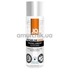 Анальный лубрикант JO Anal Premium Cooling на силиконовой основе - охлаждающий эффект, 60 мл - Фото №1