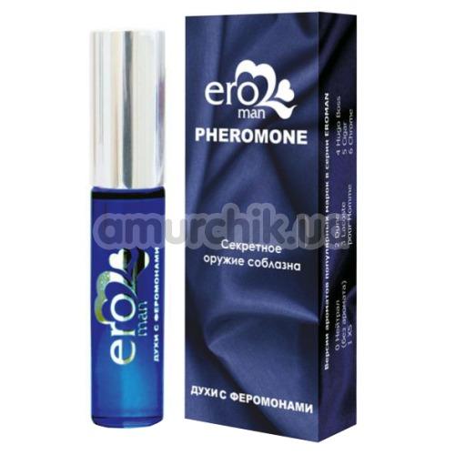 Духи с феромонами Eroman №4 - реплика Hugo Boss, 10 мл для мужчин