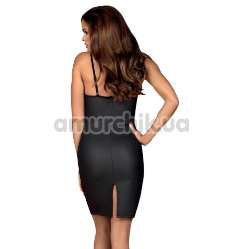 Комплект Obsessive Redella, черный: платье + трусики-стринги