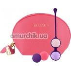 Набор вагинальных шариков Rianne S Essentials Pussy Playballs, розовый - Фото №1