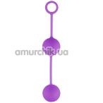Вагинальные шарики Easy Toys Canon Balls, фиолетовые - Фото №1