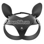 Маска кошечки Fetish Tentation Enjoy Pain Adjustable Catwoman Diamond Mask, черная - Фото №1