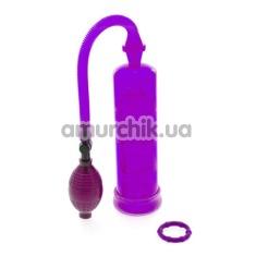 Помпа для увеличения пениса Extreme Enlargement Pump, фиолетовая - Фото №1
